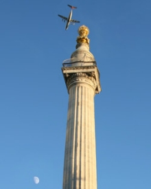 The Monument, built by Sir Christopher Wren in as a memorial to the Great Fire of 1666, will shortly be protected against any further threats of fire by EMS Group