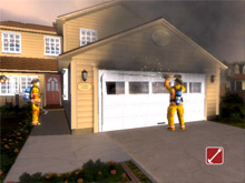 An image from FLAME-SIM training software - FLAME-SIM, LLC will be holding free training classes on the use of their product at FDIC 2009