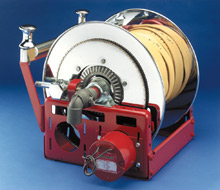 An F Series hose reel from Hannay Reels: the company's reels set an industry standard