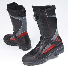 Rosenbauer's TWISTER firefighting boots: these innovative new boots have won a prestigious 'Red Dot' product design award