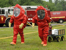 The ONESuit line of chemically protective single-skin hazmat suits from Saint-Gobain has been fully certified to the NFPA 1991 standard