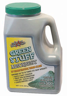 D2L Products will exhibit its environmentally friendly Green Stuff® Absorbent at Fire Rescue International 2009