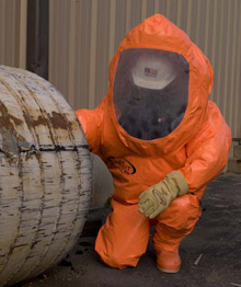 The ONESuit Pro hazmat protective suit from Saint-Gobain Performance Plastics has been awarded the highest level of certification recognized within the EU and throughout Asia