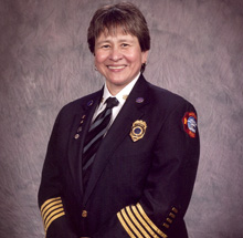 Debra began her firefighting career in 1983 as a recruit in the Tallahassee Florida Fire Department