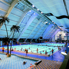 Solid State replaces old voice alarm system at Manchester Aquatics Centre with SigNET's Integrity voice alarm