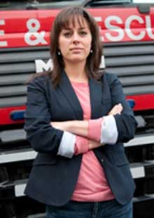 Cheshire Fire and Rescue Service has joined forces with celebrity, Jill Halfpenny for their fire safety campaign