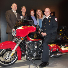 Pierce AND Harley-Davidson announce NFFF Full Throttle Support 3 sweepstakes winner