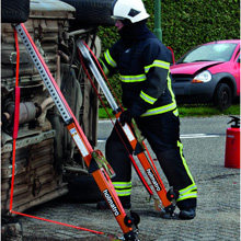 The V-Strut has a high shoring capacity of 16 kN and takes just 15 seconds to set up