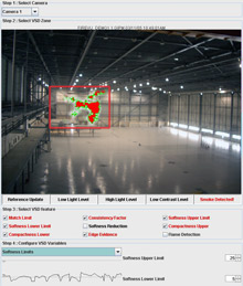 D-Tec's Video Smoke Detection (VSD) analyses CCTV images by applying sophisticated algorithms to the images, distinguishing between smoke and other sources of movement