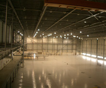One of the current applications for Video Smoke Detection (VSD) from D-Tec - an aircraft hangar in Oman