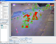 FireVu, D-Tec's video smoke detection solution, works by looking for anticipated motion patterns of smoke and analysing pixel changes, recognising the particular pattern that smoke produces