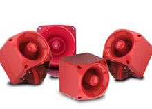 Klaxon Signals' new low-voltage AC version of the multi-purpose Nexus sounder