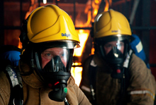 Draeger's VFR Pro helmets are designed for use in firefighting, industrial, marine, offshore and military applications