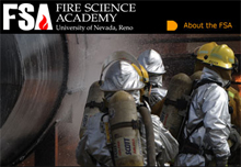 The Fire Science Academy has made its website more interactive for fire industry clients