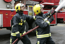 LFB firefighters have received a new fire kit