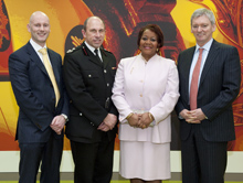 The agreement with Hilton for fire safety is a first of its kind between a hotel chain and the London Fire Brigade