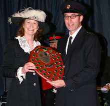 Shropshire fire personnel have recently received praise and awards for good and long services