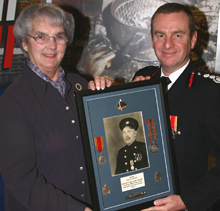 Alfred Thompson was remembered recently as the longest serving fireman by the Shropfire Fire and Rescue Service