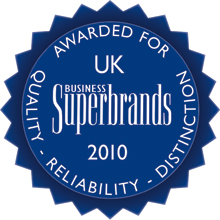 Fire and security firm Chubb has been voted on top as a business superbrand of UK