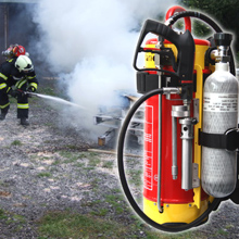 HNE portable fire fighting systems are an extremely versatile solution for small fast response units