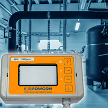 The detector helps to reduce the risk of leakage of powerful greenhouse gases into the environment