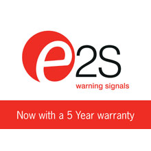 The high-performance audible and visual signals and control devices manufactured by E2S are widely specified in commercial and industrial locations