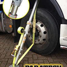 Paratech's USAR, Vehicle Stabilisation Tools, Maxiforce Airlifting Bags have been in use in the UK