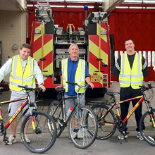 Cycle Experience's London regional co-ordinator Ian Ramsay said a number of UK fire and rescue services had implemented the cycle training initiative
