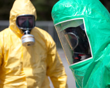 HazMat responders at work: the US Chemical Safety Board (CSB) is sending a team to investigate the release of ammonia at Tanner Industries in South Carolina, which proved fatal to one victom