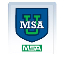 The new online resource from MSA offers training and product information on all MSA products