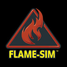 This year the company will be demonstrating FLAME-SIM in booth 4861 located in the