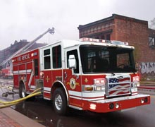 The new Dash CF apparatus helps firefighters better prepare for unexpected situations they face