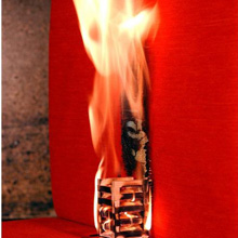 FIRA carries out flammability testing for approximately 150 furniture products and components a week
