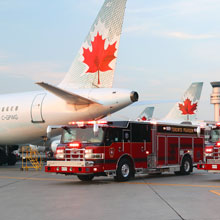 PIERCE delivers PUC pumper and aerial ladder to Toronto International