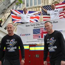 The aim of the events is to raise donations for the Stephen Siller Tunnel To Towers Foundation
