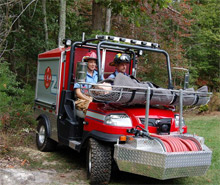 Creative Fire Apparatus, LLC has won an award for creating a uniquely compact firefighting vehicle designed to be able to access fires and victims in tight spaces