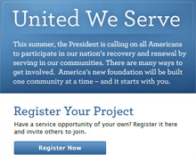 FEMA is hosting a roundtable discussion in Denver, CO to highlight President Obama's United We Serve campaign, which aims to promotes volunteer service in many sectors across America this summer