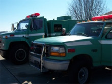 The Shawnee National Forest, with assistance from the Illinois Department of Natural Resources (IDNR) has acquired two surplus federal wildland trucks