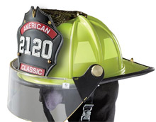Lion Apparel's American Classic helmets in custom color yellow fit the bill for the Tri-Community Volunteer Fire Department in Collegedale, Tennessee