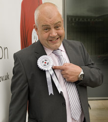 Cliff Parisi, who plays Minty in EastEnders, is backing the new campaign
