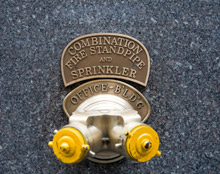 Fire sprinklers are already used in many offices, hospitals and schools