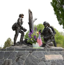 The 16th annual Prineville Hotshot Memorial Firefighting Run will take place on June 6, 2009 - all proceeds go towards maintenance of the Wildland Firefighter monument in Ochoco Creek Park and to the Wildland Firefighter Foundation