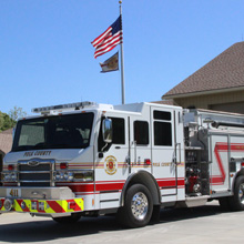 PCFR provides fire, emergency medical, and emergency management services to residents in a 2000-square-mile area