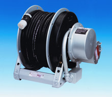 An ECR1500 Series power rewind cable reel from Hannay Reels