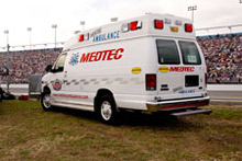 Medtec Ambulances, another Oshkosh Corporation company, have been named 'Official Ambulance' for the Daytona International Speedway