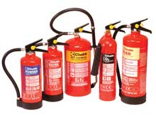 Chubb has been awarded the business to supply fire extinguishers to all new stores and servicing contracts