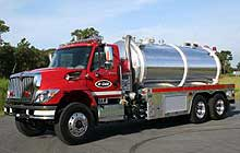 Water Master vacuum tankers were designed to deliver the maximum amount of water to the scene