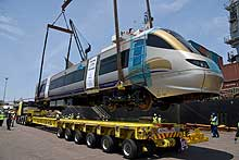 Gautrain will be built to standard 1,435mm to accommodate the client's maximum speed requirements