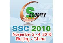 Security Sourcing Conference (SSC) 2010