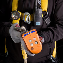 Crowcon confined space entry gas detector